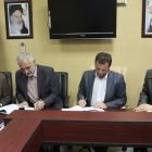 , امضاء قرارداد ساخت مخازن نگهداری مواد نفتی در بندر امیرآباد