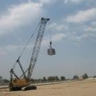 تصاویر روند اجرای پروژه احداث مخازن نفتی