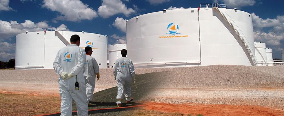 پروژه احداث مخازن نفتی